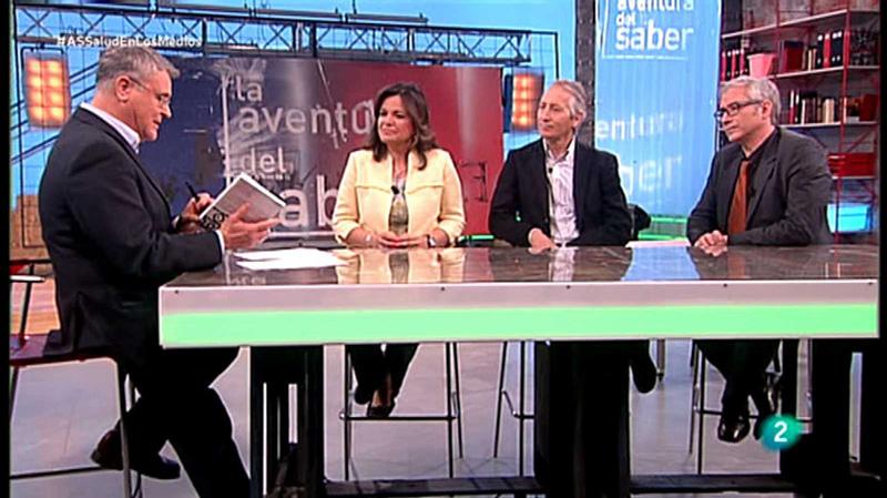 """Carmen Marta-Lazo y Gabelas-Barroso en """"La aventura del saber"""" en TVE"""