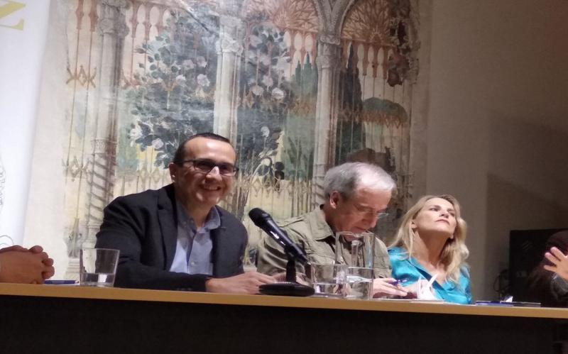 Participación en una mesa redonda sobre el Festival Internacional de Jazz de Granada, junto a Paco Espínola y Mariche Huertas. 2019
