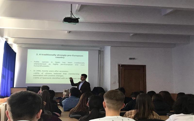 Profesor invitado en la Universidad Babes-Bolyai (Rumanía)