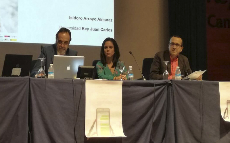 Moderación de mesa redonda en el I Congreso Iberoamericano de Comunicación Institucional y Publidiad Social. Universidad Rey Juan Carlos, Madrid, 2018.