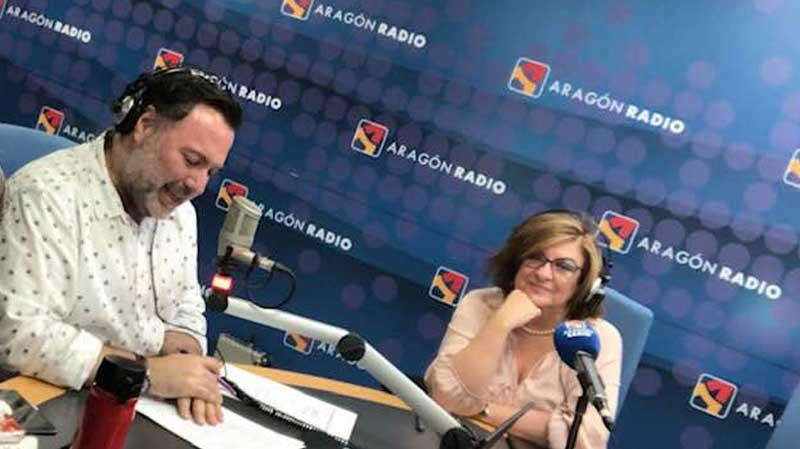 Isabel Iniesta colabora en Radio Aragón